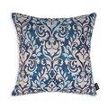 Декоративная подушка Adagio 45х45 сине-бежевого цвета