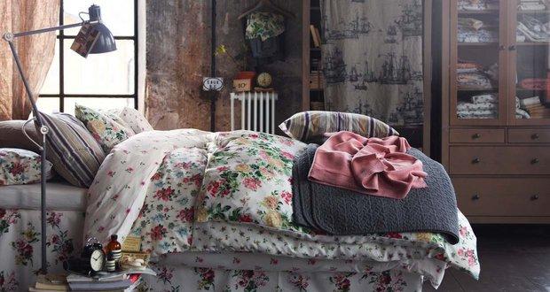Фотография: Спальня в стиле Лофт, Декор интерьера, Декор дома, Цвет в интерьере, Белый, Ретро, Шебби-шик – фото на INMYROOM