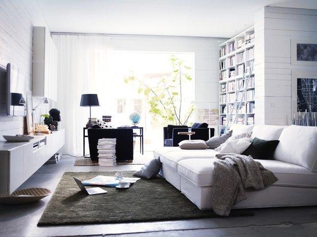Фотография: Спальня в стиле Скандинавский, Малогабаритная квартира, Квартира – фото на INMYROOM