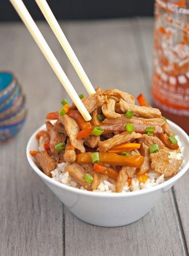 Фотография:  в стиле , Основное блюдо, Палео, Жарить, Китайская кухня, Кулинарные рецепты, 30 минут, Азиатская кухня, Просто, Говядина, Безглютеновая диета – фото на INMYROOM