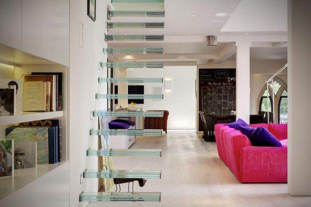 Фотография: Гостиная в стиле Современный, Квартира, Дома и квартиры, Архитектурные объекты – фото на INMYROOM