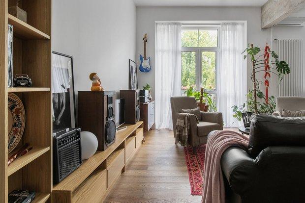 Фотография: Гостиная в стиле Лофт, Советы – фото на INMYROOM
