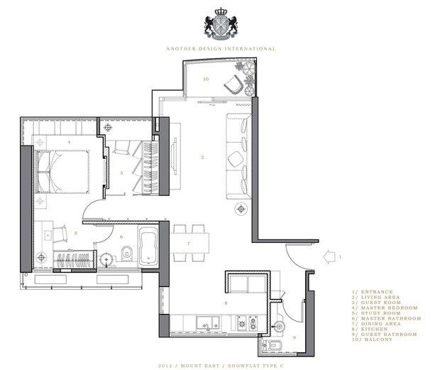 Фотография: Планировки в стиле , Современный, Малогабаритная квартира, Квартира, Дома и квартиры, Квартиры – фото на INMYROOM