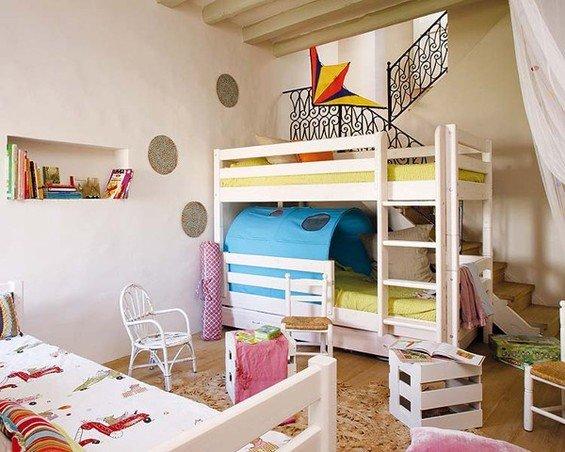 Фотография: Детская в стиле Прованс и Кантри, Дом, Дома и квартиры, Балки – фото на INMYROOM