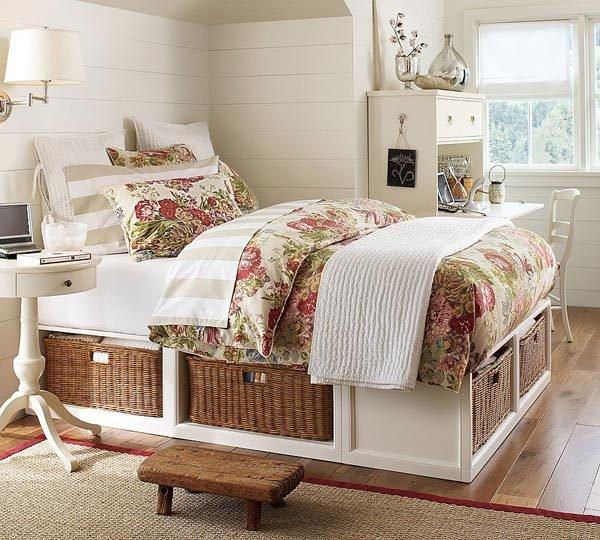 Фотография: Спальня в стиле Прованс и Кантри, Скандинавский, Хранение, Стиль жизни, Советы – фото на INMYROOM