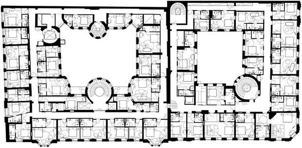 Фотография: Планировки в стиле , Дом, Дома и квартиры, Отель, Проект недели – фото на INMYROOM