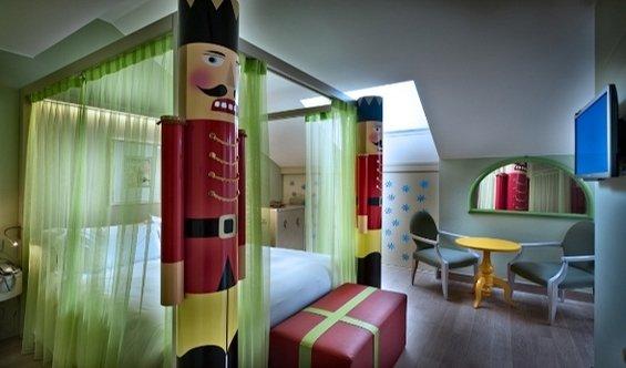 Фотография: Детская в стиле Современный, Дома и квартиры, Городские места, Отель, Модерн, Милан, Замок – фото на InMyRoom.ru