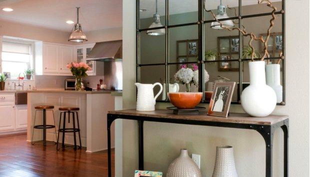Фотография: Гостиная в стиле Скандинавский, DIY, Дом, Цвет в интерьере, Дома и квартиры, Белый – фото на INMYROOM