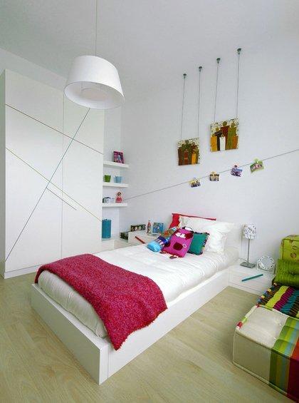 Фотография: Детская в стиле Минимализм, Декор интерьера, Декор дома, Цвет в интерьере, Обои – фото на INMYROOM