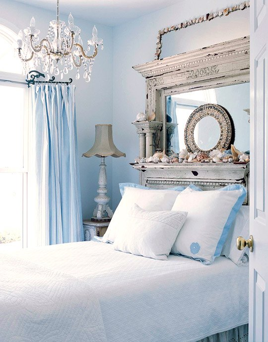 Фотография: Спальня в стиле Прованс и Кантри, Классический, Современный, Декор интерьера, Квартира, Дом, Аксессуары, Декор, Советы, Белый, Бежевый, Розовый, Голубой – фото на INMYROOM