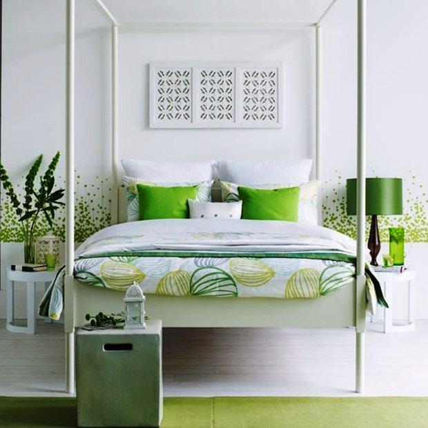 Фотография: Спальня в стиле Восточный, Интерьер комнат, Цвет в интерьере, Советы – фото на INMYROOM