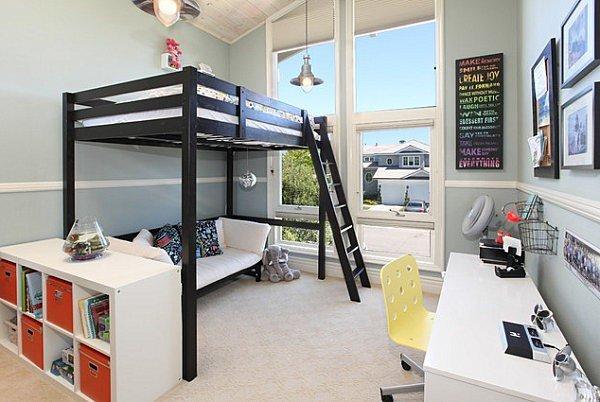 Фотография: Детская в стиле Лофт, Гостиная, Интерьер комнат – фото на INMYROOM