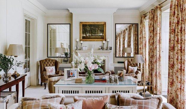 Фотография: Гостиная в стиле Прованс и Кантри, Декор интерьера, Дом, Великобритания – фото на InMyRoom.ru