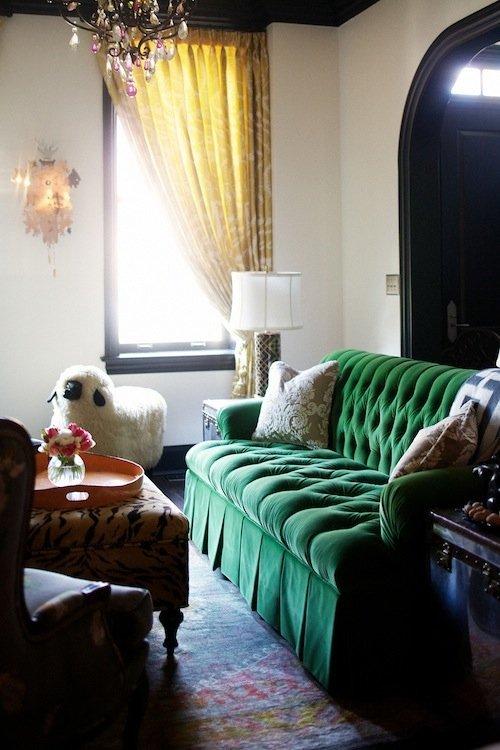 Фотография: Гостиная в стиле Скандинавский, Современный, Эклектика, Декор интерьера, Дизайн интерьера, Цвет в интерьере – фото на INMYROOM
