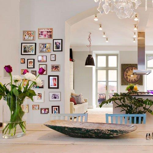 Фотография: Кухня и столовая в стиле Прованс и Кантри, Скандинавский, Современный, Декор интерьера, Часы, Декор дома – фото на InMyRoom.ru