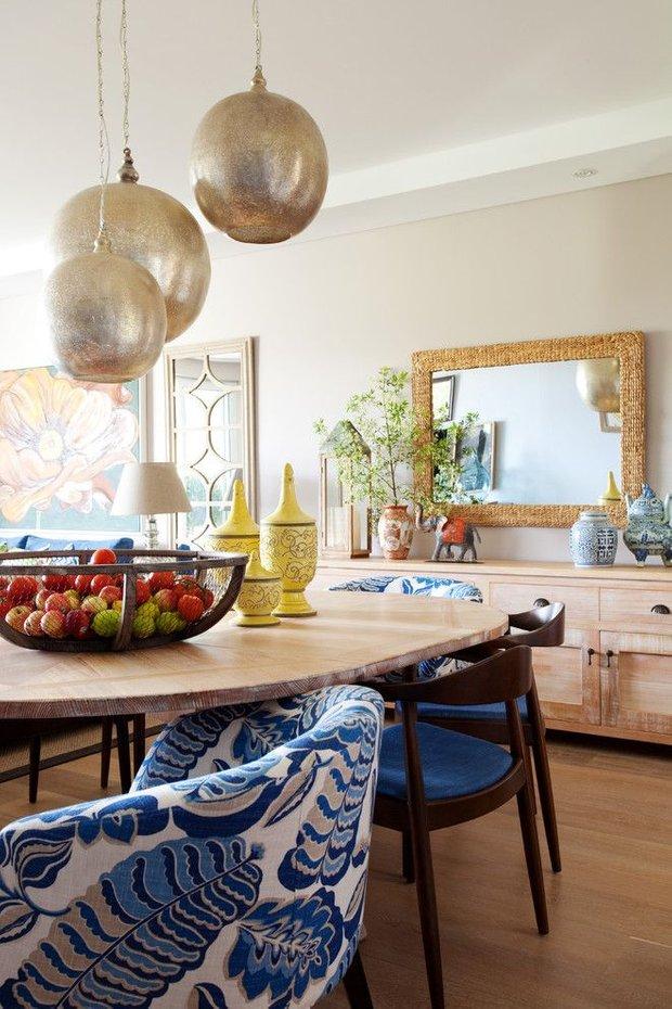 Фотография: Кухня и столовая в стиле Прованс и Кантри, Восточный, Декор интерьера, Дом, Декор, Декор дома, Цвет в интерьере – фото на INMYROOM