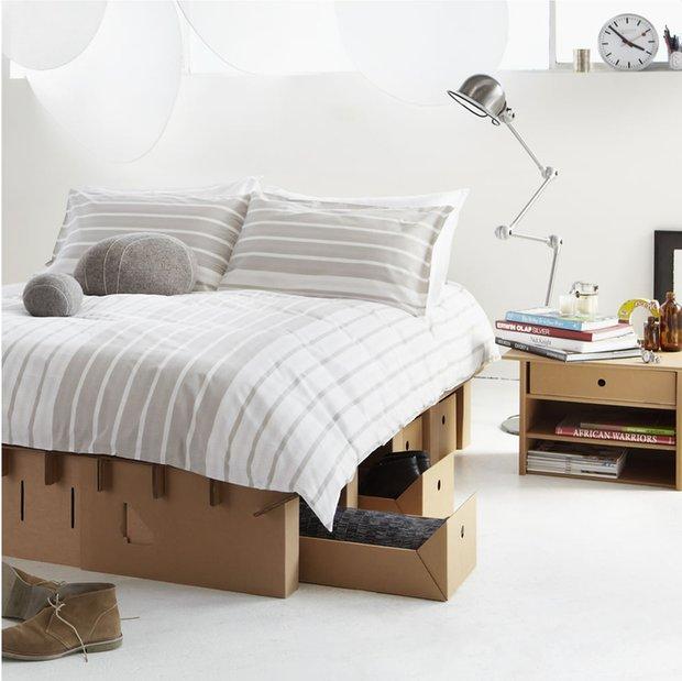 Фотография: Спальня в стиле Лофт, Скандинавский, Декор интерьера, Декор дома – фото на InMyRoom.ru