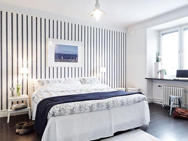 Фотография: Спальня в стиле Скандинавский, Декор интерьера, Квартира, Дом, Цвет в интерьере, Дома и квартиры, Белый, Винтаж – фото на INMYROOM