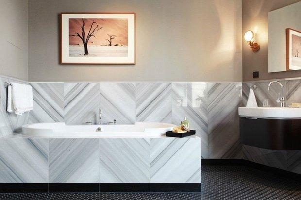 Фотография: Ванная в стиле Современный, Квартира, Дома и квартиры – фото на INMYROOM