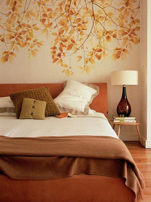 Фотография: Спальня в стиле Прованс и Кантри, Классический, Современный, Декор интерьера, DIY, Дом, Цвет в интерьере, Оранжевый – фото на INMYROOM