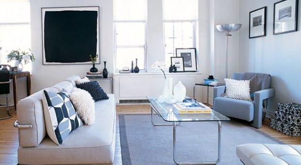 Фотография:  в стиле , Гид, керамическая плитка, двушка, домашняя стирка, ИКЕА в интерьере дома, спальня с гардеробом, студия в современном стиле, гардеробная в квартире, идеи для малогабаритки, двухкомнатная квартира в хрущевке, П-46 – фото на INMYROOM