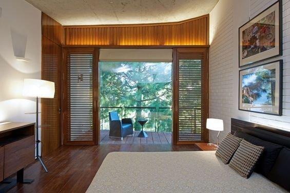 Фотография: Спальня в стиле Минимализм, Дом, Дома и квартиры – фото на INMYROOM