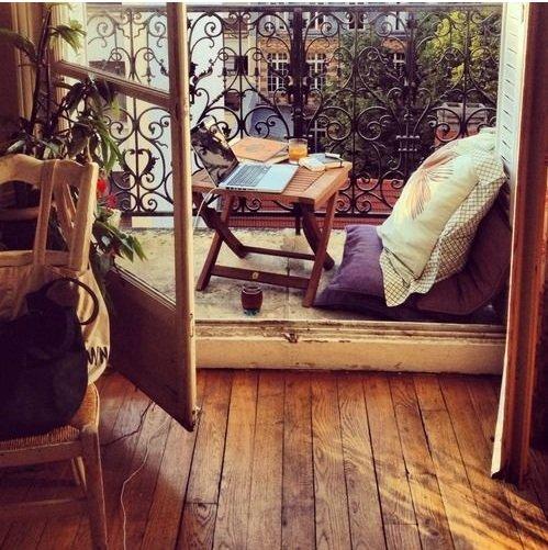 Фотография: Балкон, Терраса в стиле Прованс и Кантри, Декор интерьера, Малогабаритная квартира, Квартира, Дома и квартиры – фото на INMYROOM