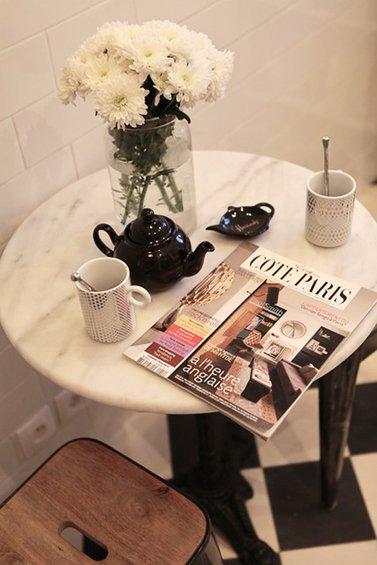 Фотография: Спальня в стиле Прованс и Кантри, Малогабаритная квартира, Квартира, Дома и квартиры, Переделка, Париж – фото на INMYROOM
