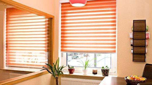 Фотография: Офис в стиле Классический, Квартира, Декор, Советы, как выбрать жалюзи, жалюзи на окна – фото на INMYROOM