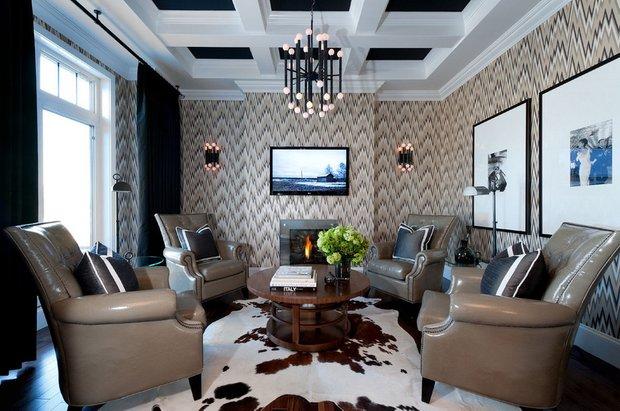 Фотография: Гостиная в стиле Эклектика, Декор интерьера, Дом, Декор дома, Текстиль – фото на INMYROOM