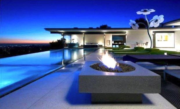 Фотография: Архитектура в стиле Современный, Дом, Дома и квартиры, Интерьеры звезд – фото на InMyRoom.ru