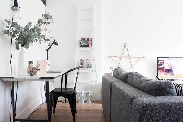 Фотография: Гостиная в стиле Скандинавский, Кухня и столовая, Интерьер комнат – фото на INMYROOM