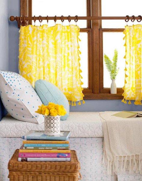 Фотография: Кухня и столовая в стиле Прованс и Кантри, Декор интерьера, Текстиль, Шторы – фото на INMYROOM