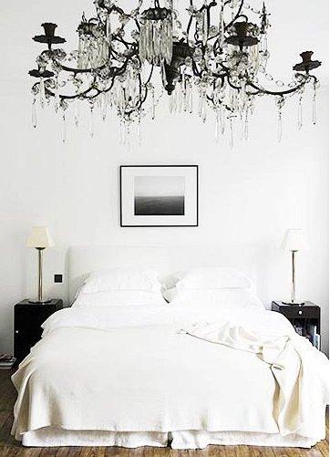 Фотография: Спальня в стиле Эклектика, Интерьер комнат, Цвет в интерьере, Советы – фото на INMYROOM