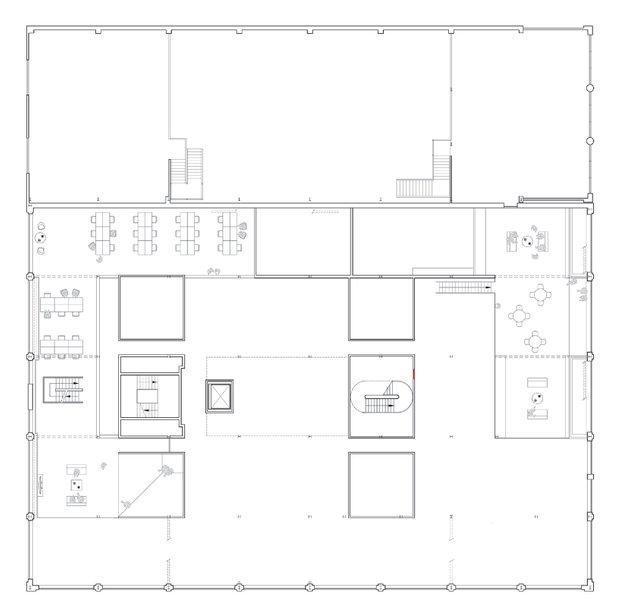 Фотография: Планировки в стиле , Офисное пространство, Офис, Дома и квартиры, Проект недели – фото на INMYROOM