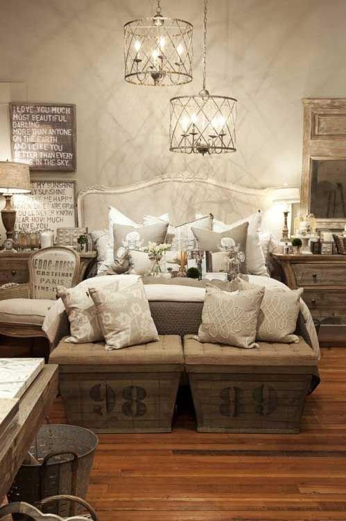 Фотография: Спальня в стиле Лофт, Интерьер комнат, Подушки, Ковер – фото на INMYROOM
