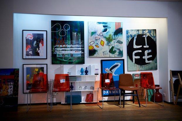 Фотография: Декор в стиле Современный, Декор интерьера, BoConcept, Мебель и свет, Индустрия, События, Кулинарная студия Clever, Мягкая мебель – фото на InMyRoom.ru