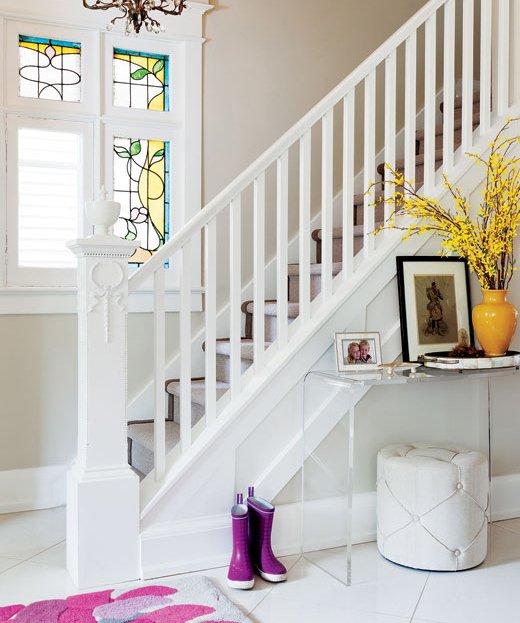 Фотография: Прихожая в стиле Современный, Декор интерьера, Дом, Цвет в интерьере, Дома и квартиры – фото на INMYROOM
