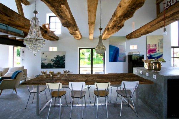 Фотография: Кухня и столовая в стиле Лофт, Декор интерьера, Дом, Дома и квартиры, Проект недели – фото на INMYROOM