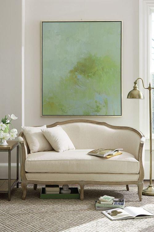 Фотография: Мебель и свет в стиле Прованс и Кантри, Декор интерьера, Декор, абстрактная живописть в интерьере, абстрактное искусство в интерьере – фото на INMYROOM