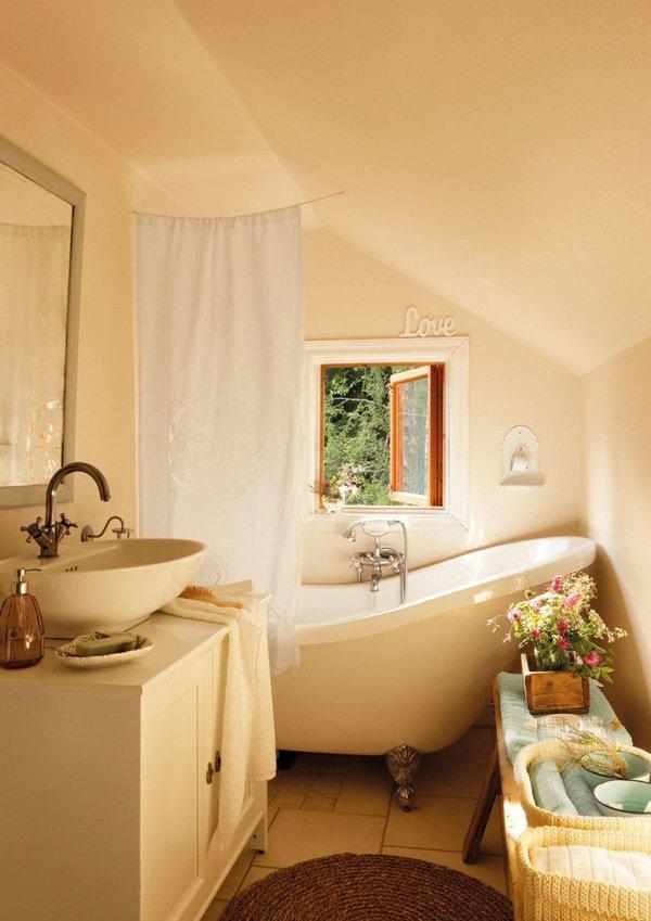 Фотография: Ванная в стиле Прованс и Кантри, Дом, Дома и квартиры, IKEA, Проект недели, Дача – фото на InMyRoom.ru