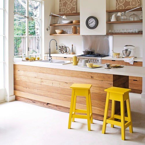 Фотография: Кухня и столовая в стиле Эко, Декор интерьера, Мебель и свет – фото на INMYROOM