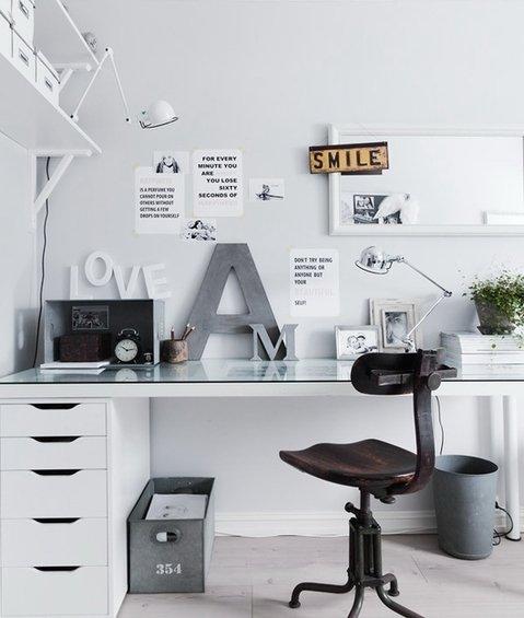 Фотография: Кабинет в стиле Лофт, Скандинавский, Декор интерьера, Декор дома – фото на INMYROOM