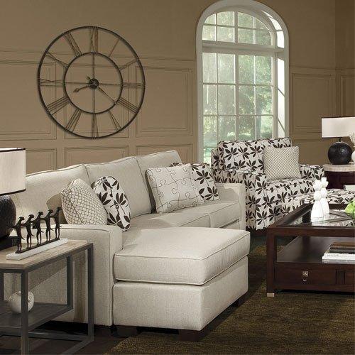 Фотография: Гостиная в стиле Современный, Декор интерьера, Часы, Декор дома – фото на INMYROOM