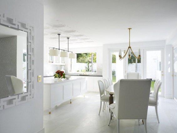 Фотография: Кухня и столовая в стиле Классический, Скандинавский, Современный, Дом, Дома и квартиры – фото на INMYROOM