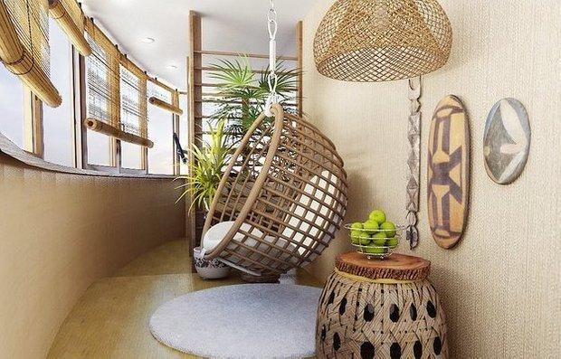 Фотография: Балкон, Терраса в стиле Эклектика, Интерьер комнат – фото на INMYROOM