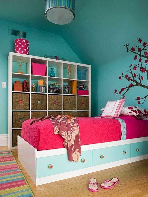 Фотография: Детская в стиле Прованс и Кантри, Современный, Спальня, Интерьер комнат – фото на INMYROOM