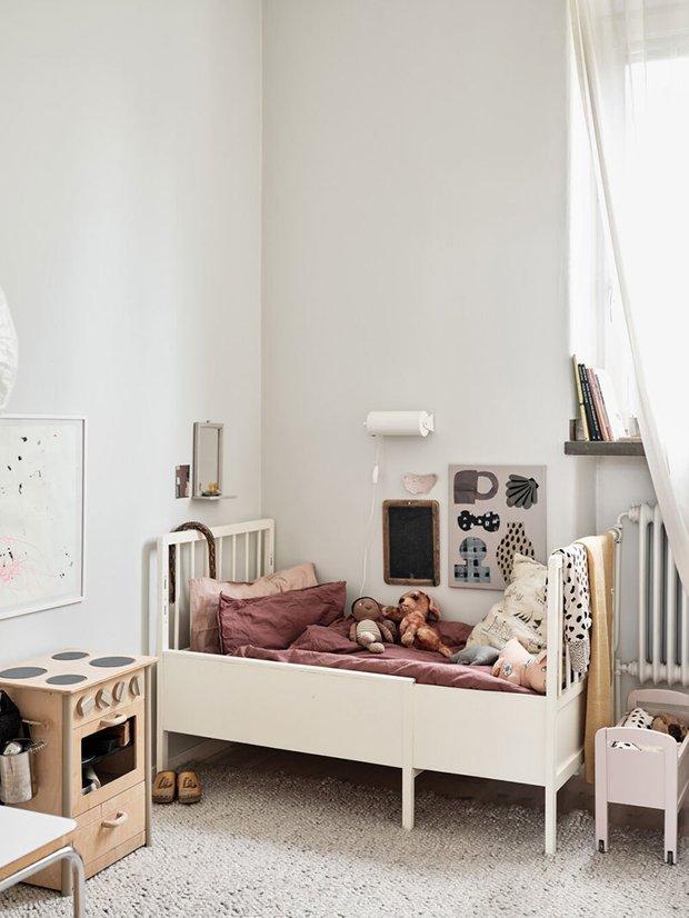 Фотография: Детская в стиле Скандинавский, Декор интерьера, Квартира, Швеция, Белый, Стокгольм – фото на INMYROOM