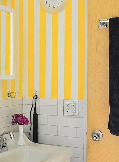 Фотография: Ванная в стиле Прованс и Кантри, DIY, Интерьер комнат, Переделка – фото на INMYROOM