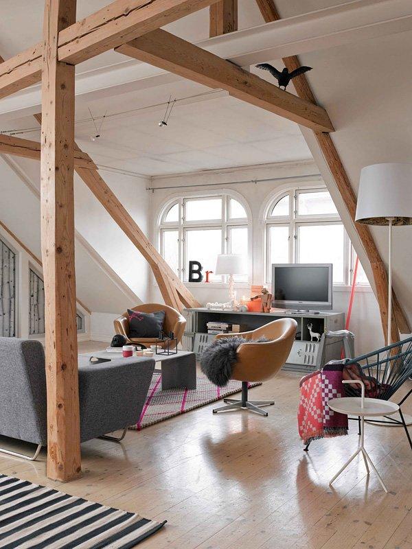 Фотография: Гостиная в стиле Современный, Малогабаритная квартира, Квартира, Дома и квартиры – фото на InMyRoom.ru